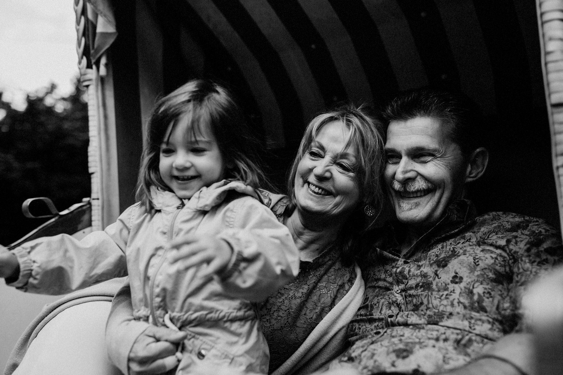 Großeltern Familienfotos
