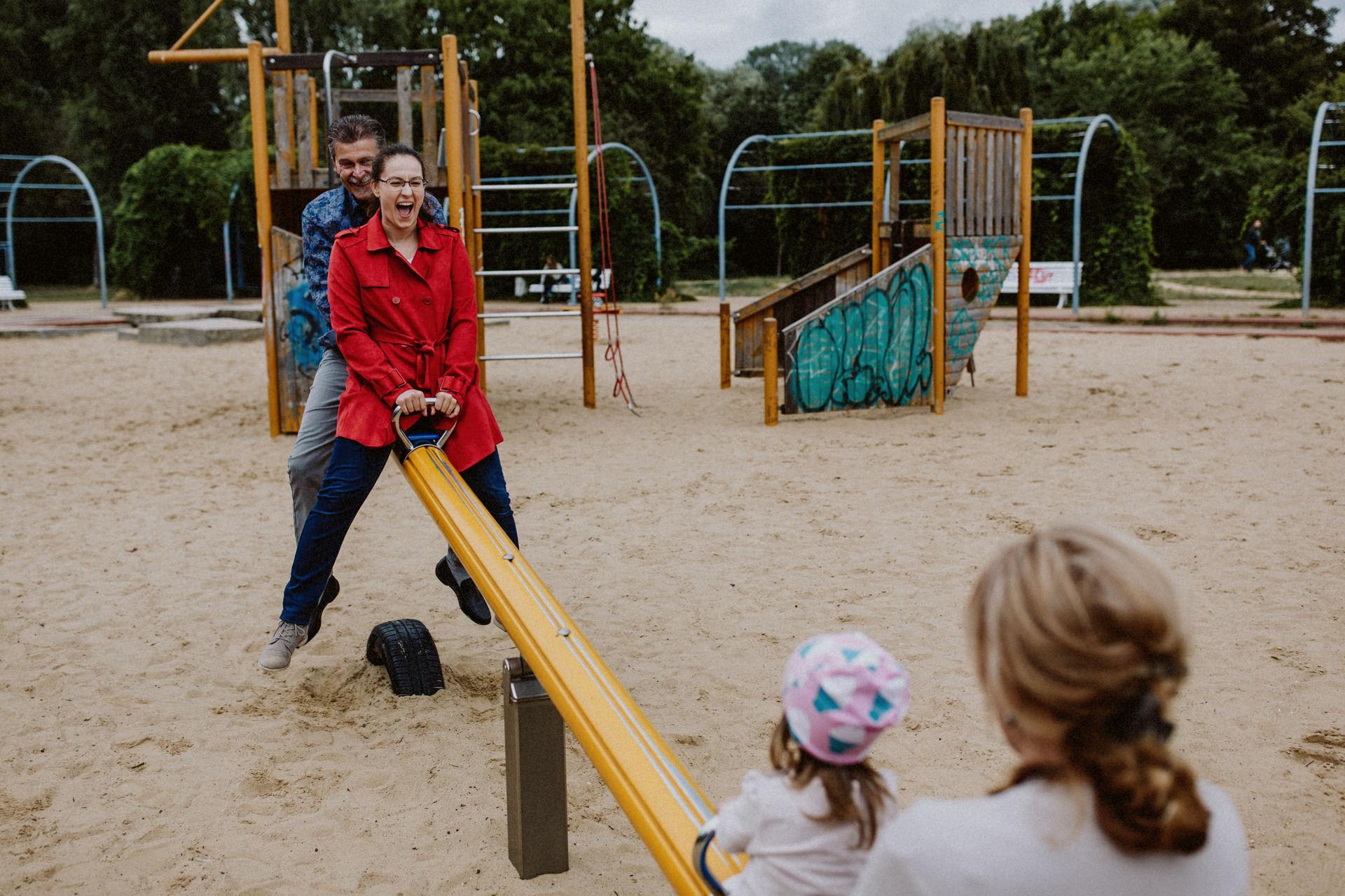 Familienfotos Spielplatz
