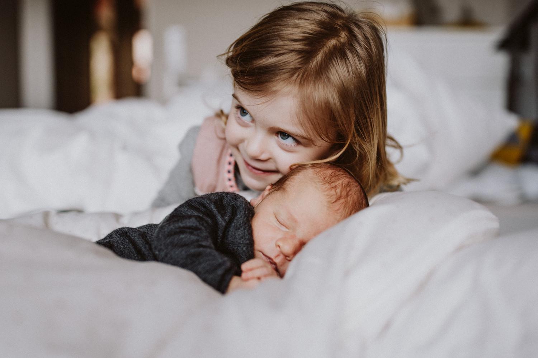 Baby Fotoshooting Geschwister