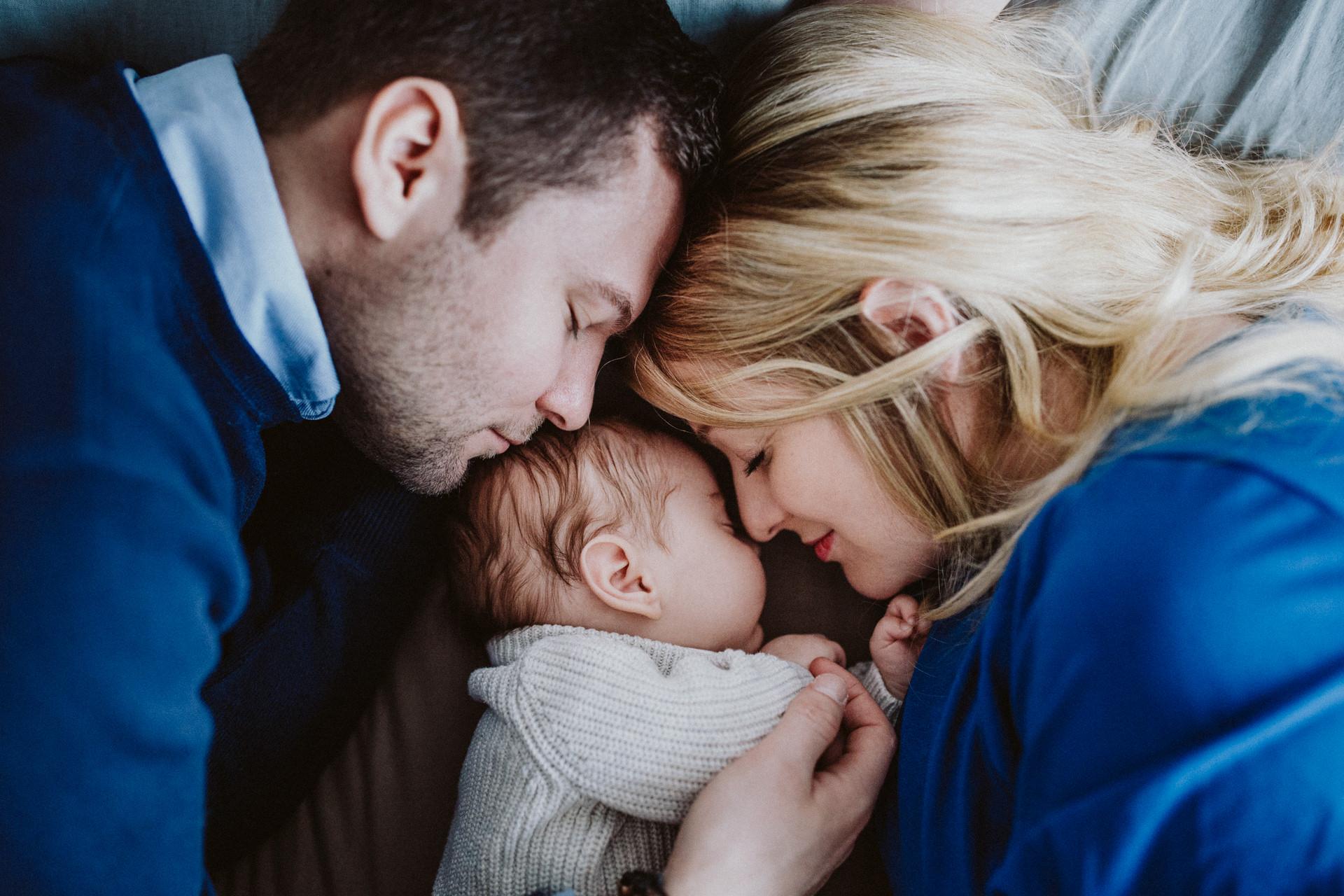 Baby Fotoshooting Neugeborenes